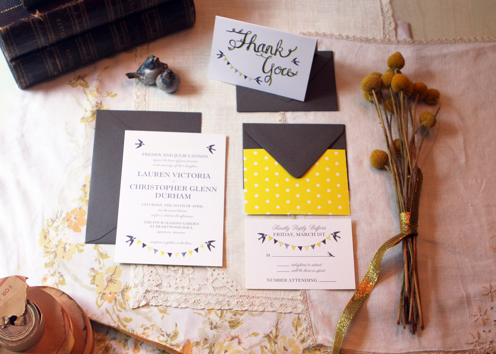 Lauren Invitation Suite