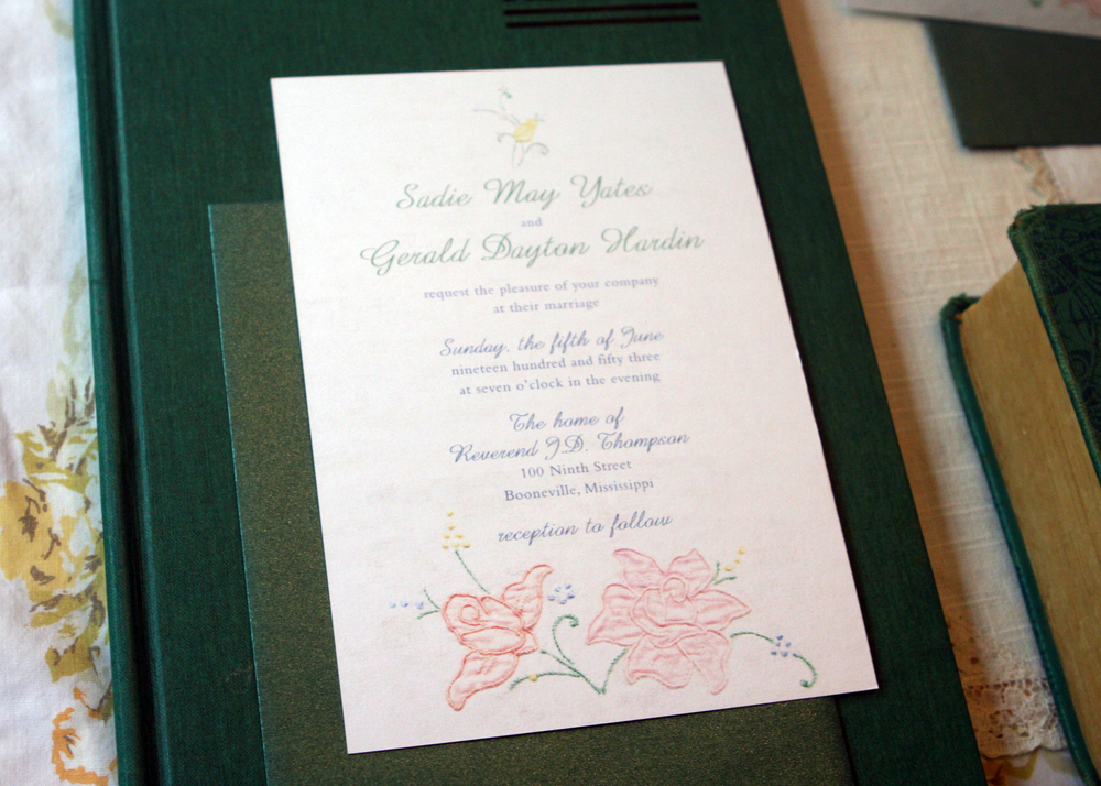 Sadie Invitation