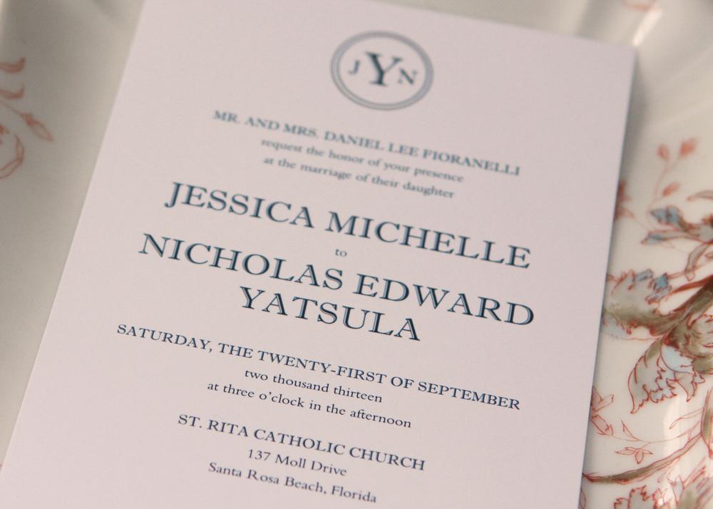 Jessica Invitation
