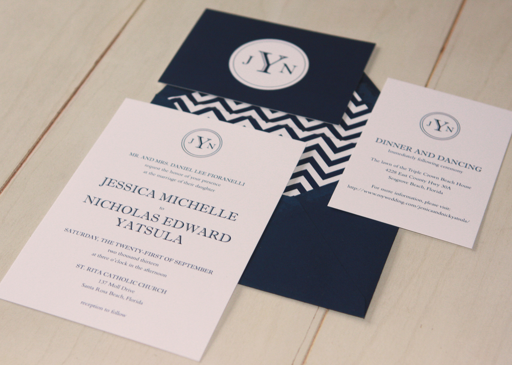 Jessica Invitation Suite