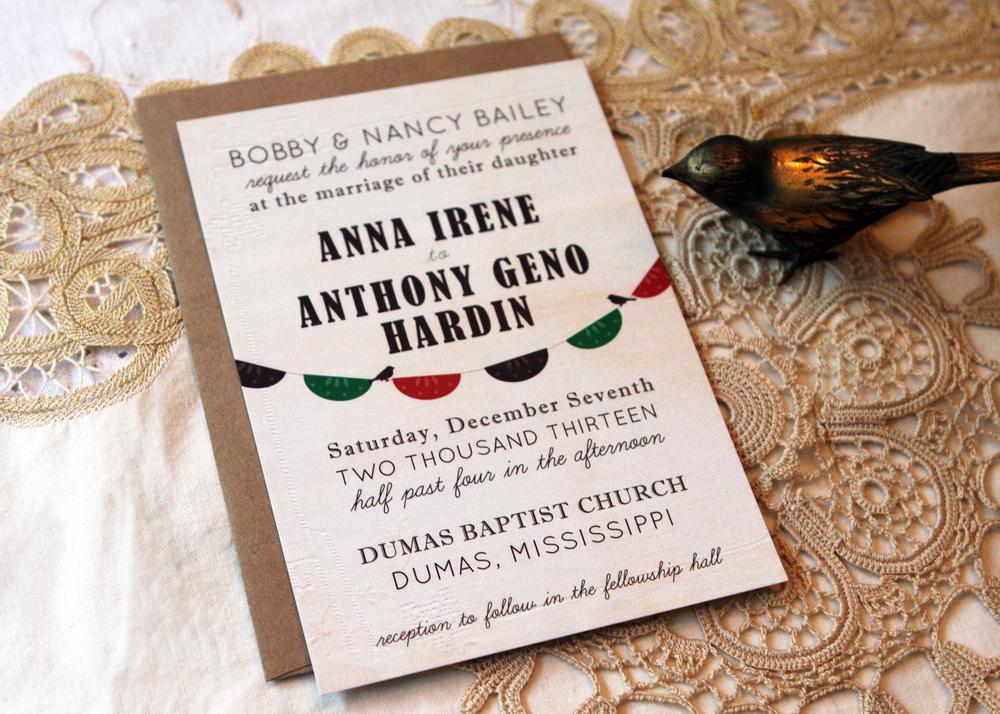 Anna Invitation