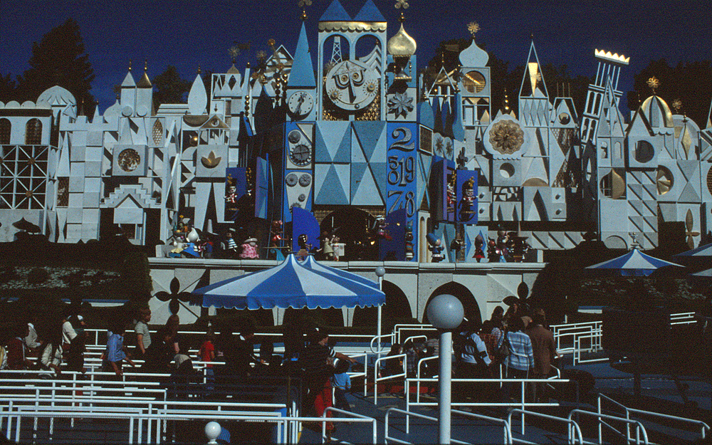 It's a Small World at Disneyland in the late 1970s.