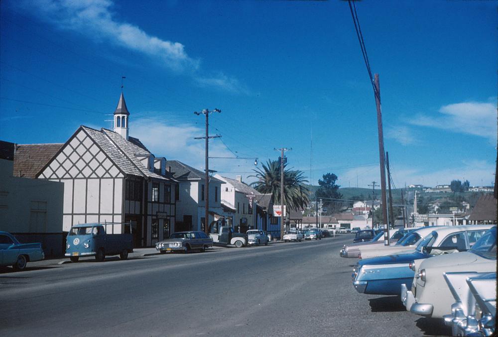 Solvang, California around 1960.