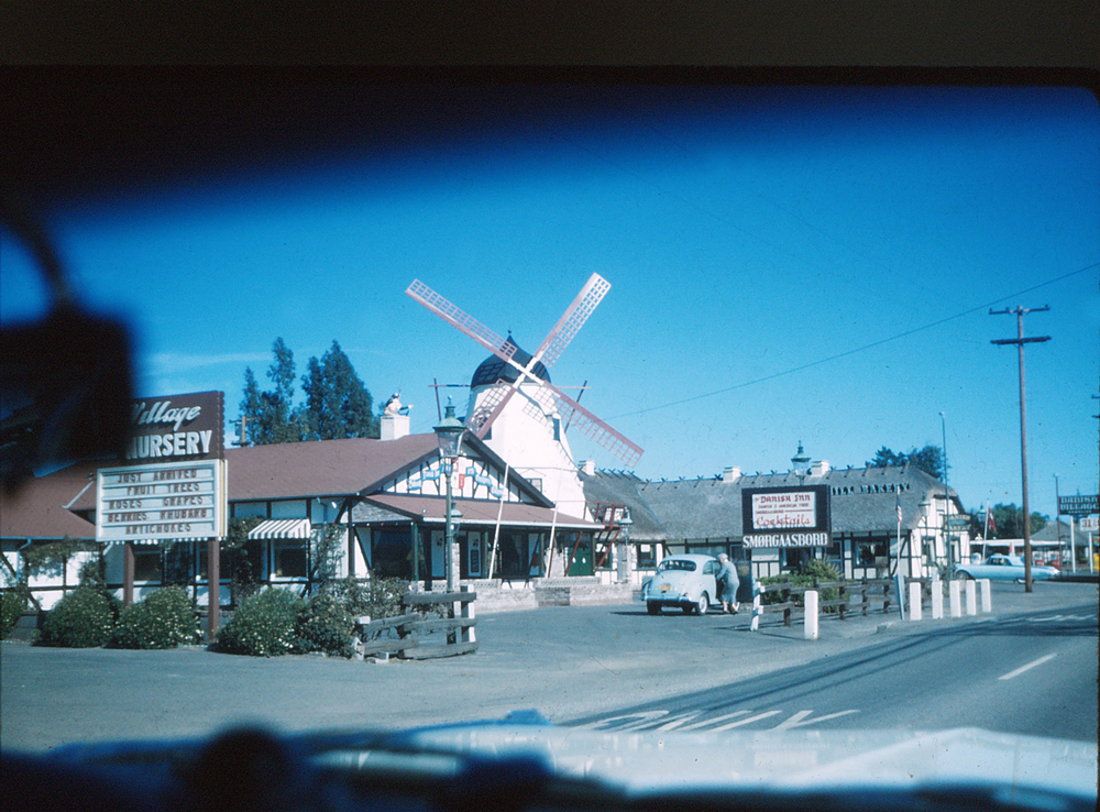 Solvang, California  around 1960.