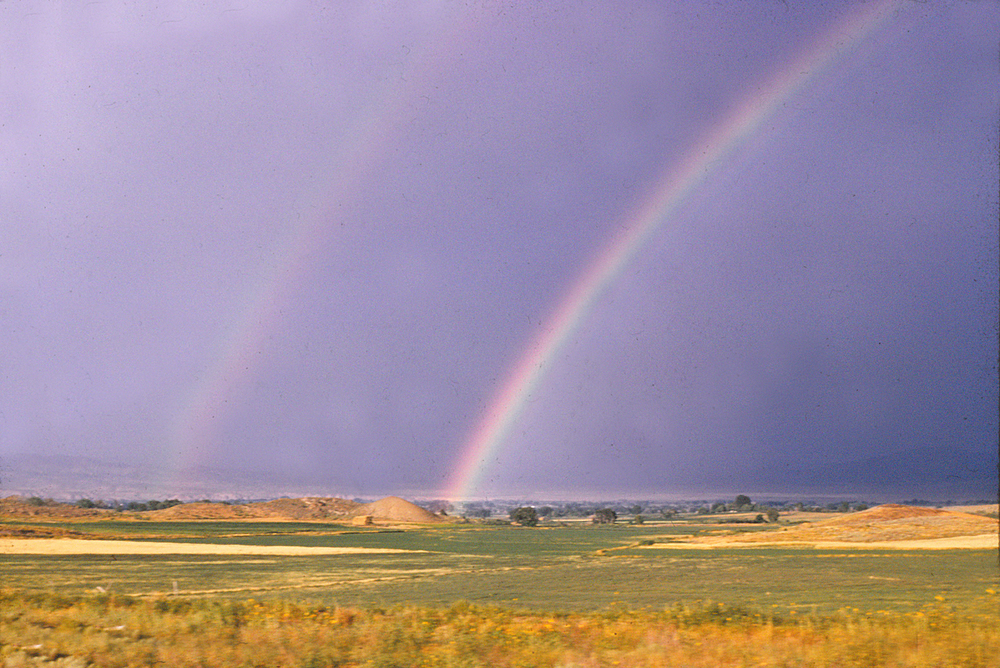 Rainbows around 1960.