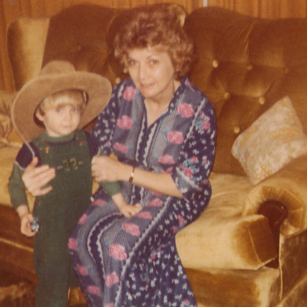 Jonathan and his grandmother Sadie.