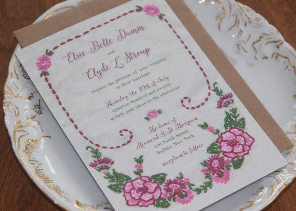 Elsie Invitation