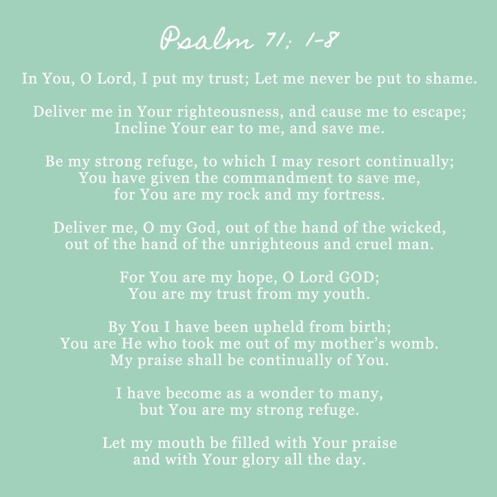 psalm 71