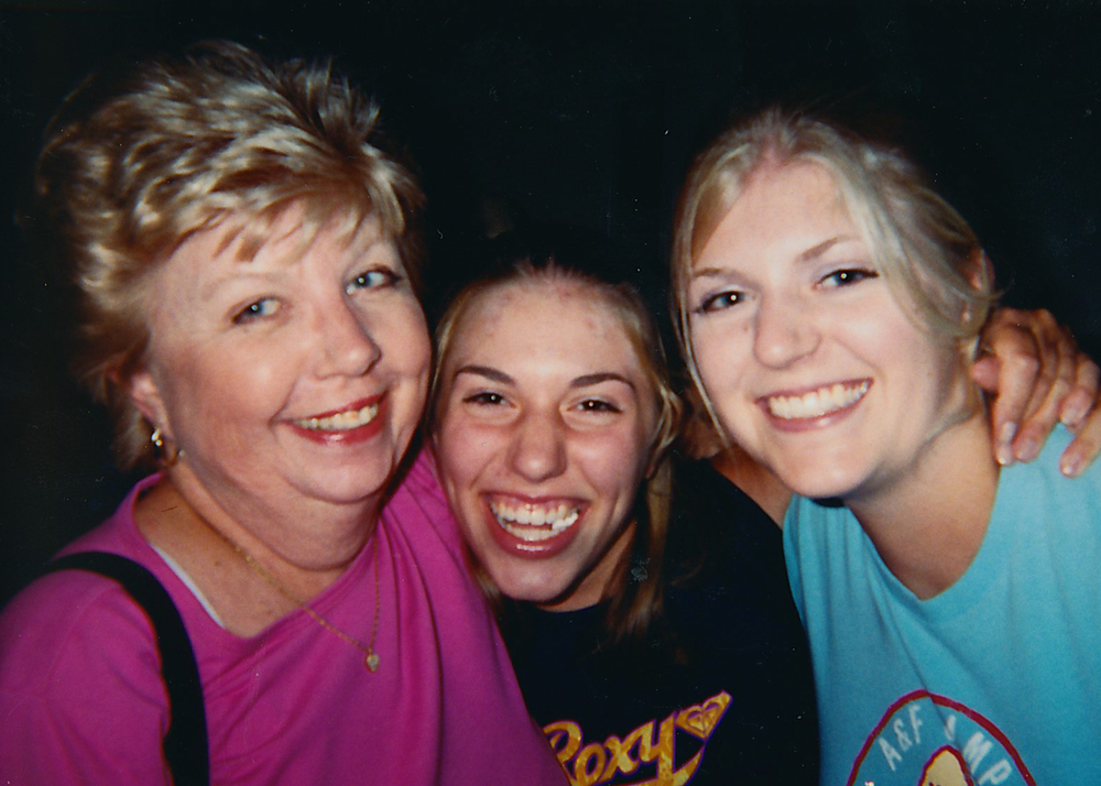 Not the best photo (sorry, Lauren), but this is the last airport photo I have of my grandma, my sister and me. It was taken by my mom in August 2001 at the arrival gate of LAX, one week before I started my senior year in high school. Little did we know it would be the last time she'd ever be able to meet us at the gate (a family tradition since my mom left home in 1974) or the airport. Almost two years to the day, I flew to LA for the first time since 9/11 to say goodbye to her.