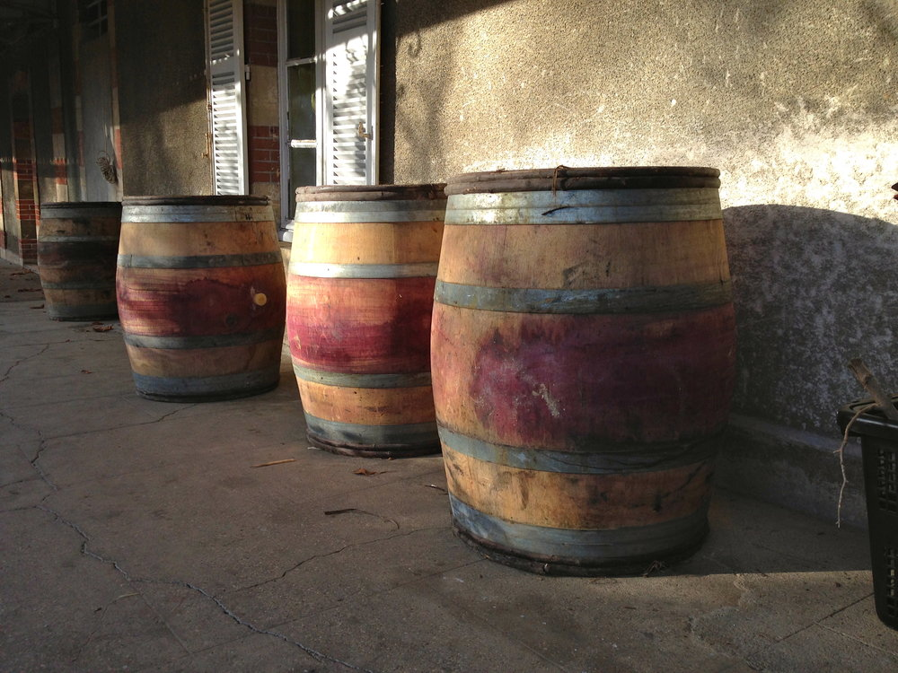 pick up a few casks prevouisly used for Chassagne Montrachet rouge