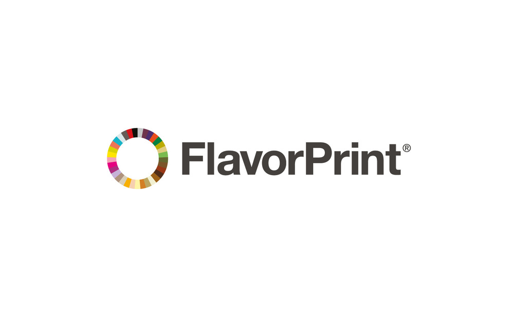 FlavorPrint Logo and style guide for McCormick's flavor recommendation service.