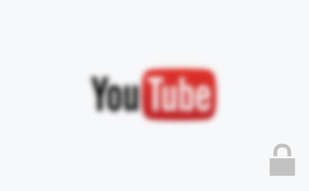 YouTube Password required.