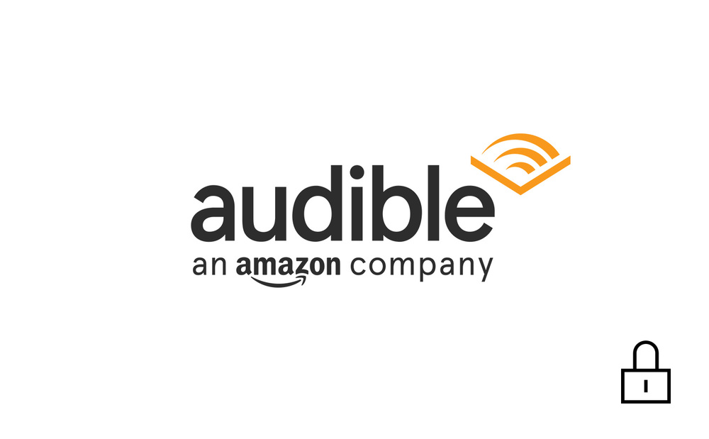 Audible Brand identity. Password required