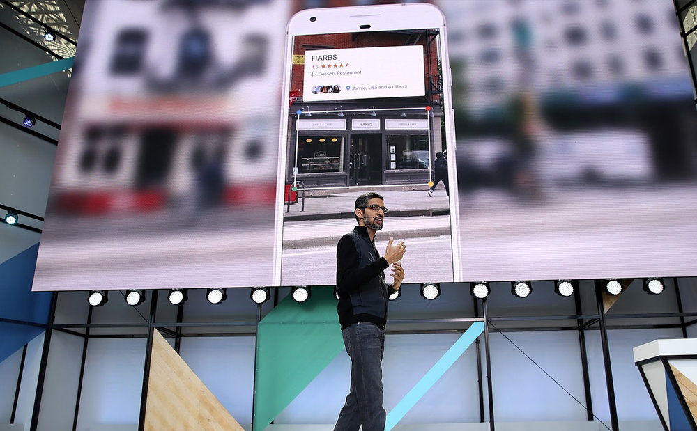 Google Lens  Branding and UX for Google's cross-product capability to understand images.