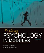 Exploring Psychology, 10e in Modules