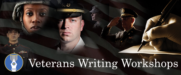 The Writers Place for Veterans Days, October 4th through 7th