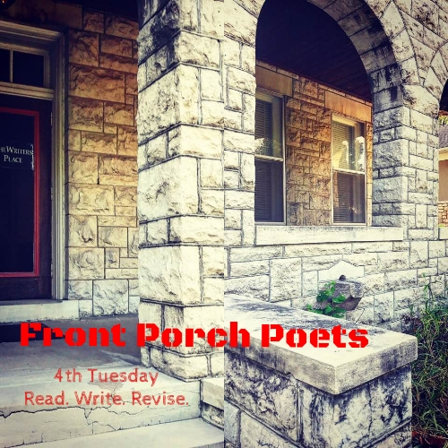 Come hang out with Chell on the porch every 4th Tuesday. Bring a pen, journal, and your latest, favorite, contemporary poet to read. We will study forms, dissect what works and create our own. Bring it. In the case of inclement weather we will meet inside in the mezzanine. 6-8pm.