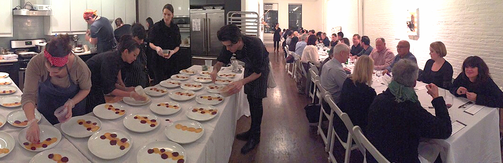 ScenesfromThe Resolution Supper,hosted by Foodstander Chef Celia Lam(inlast week's newsletter!)