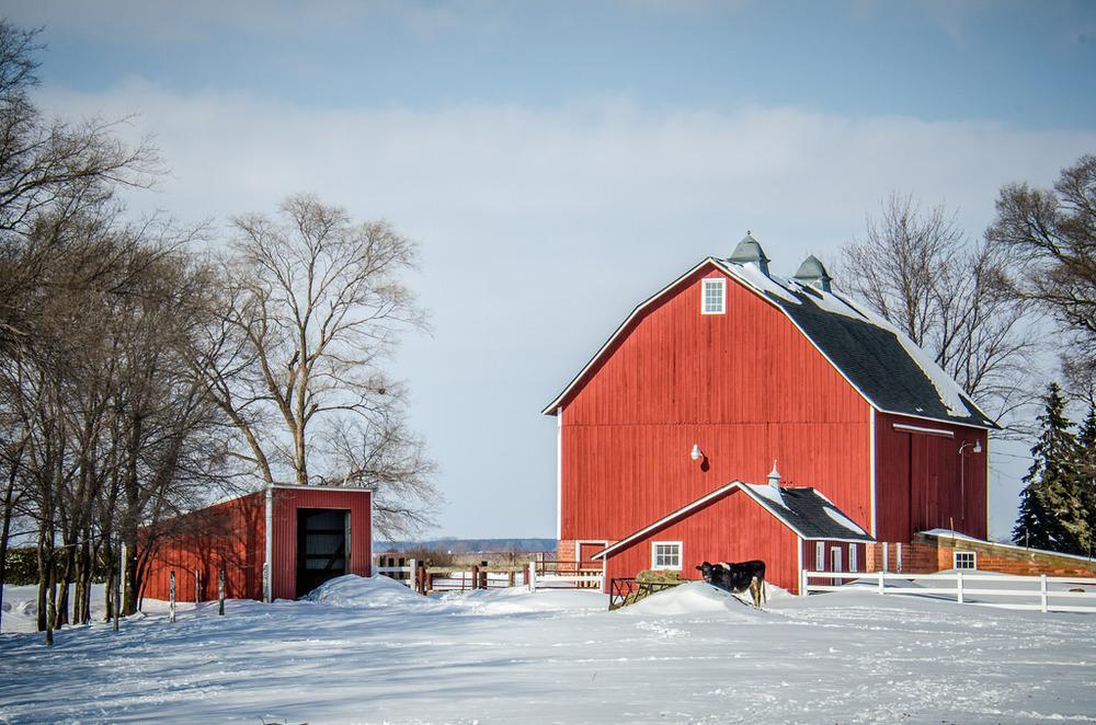 Red Barn in Vermillion,Photo credit:M01229