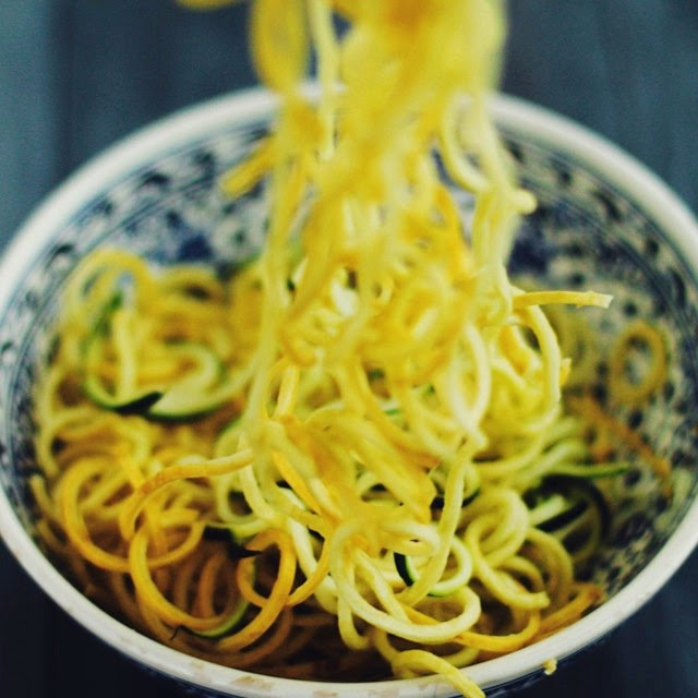 Zoodles! Zucchini noodles! Ingredients: Zucchini, Summer squash (zucchini)  Posted by: NiaTrition