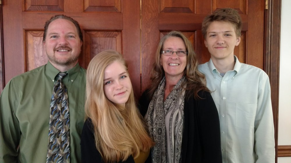 Lead Pastor - Ron Raymer and family