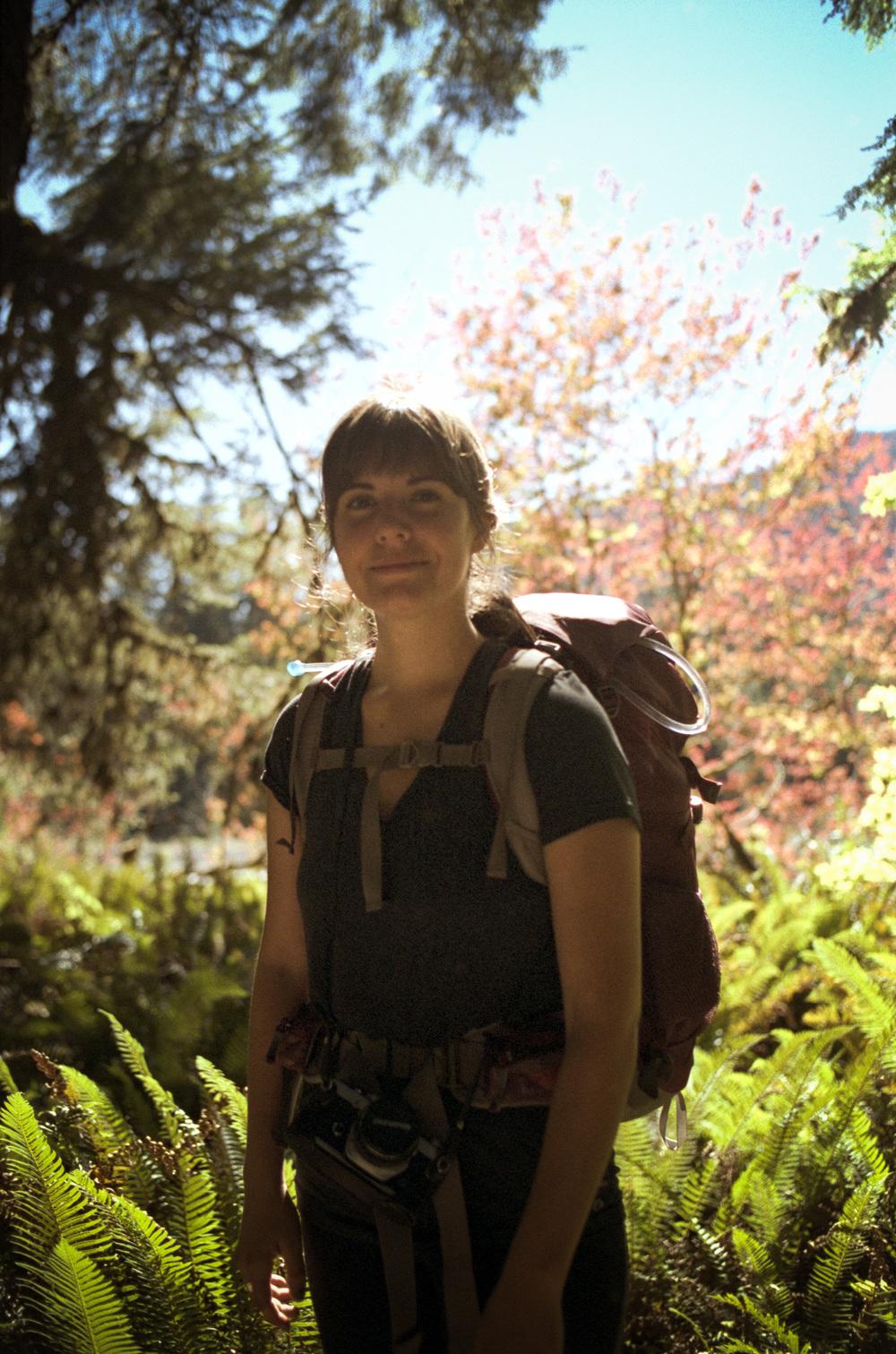 Hanna, Backpacker
