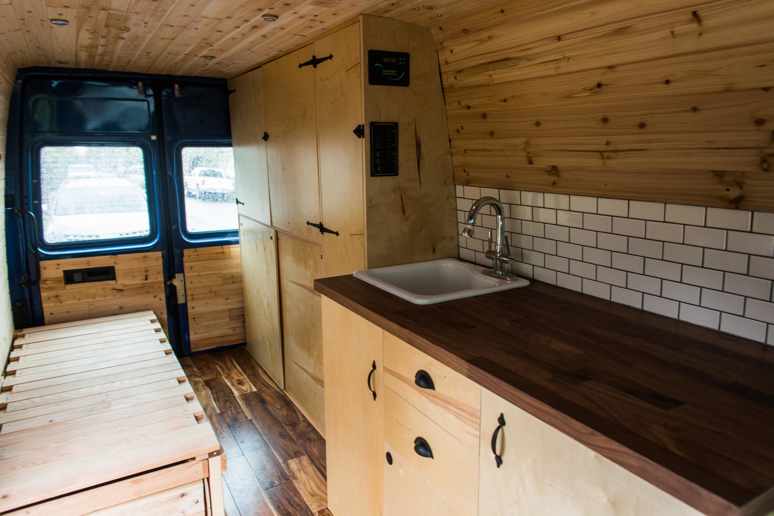 Sprinter Van Conversion Build Out Ray Phung Photography