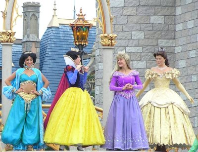 Disney Princesses at Disney