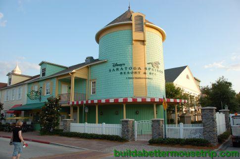 "Disney's Saratoga Springs Resort ""Movies Under the Stars"" schedule."