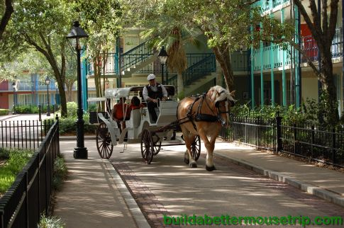 Movies Under the Stars Schedule for Disney's Port Orleans French Quarter