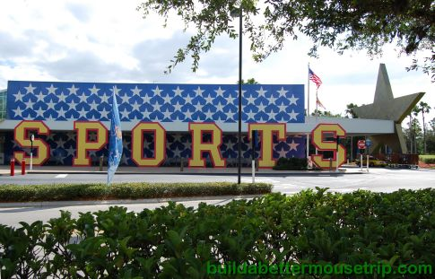 Outdoor Movie Schedule for Disney's All Star Sports