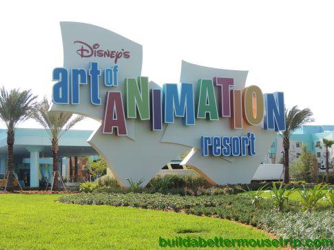 Poolside Movie Schedule for Disney's Art of Animation Resort