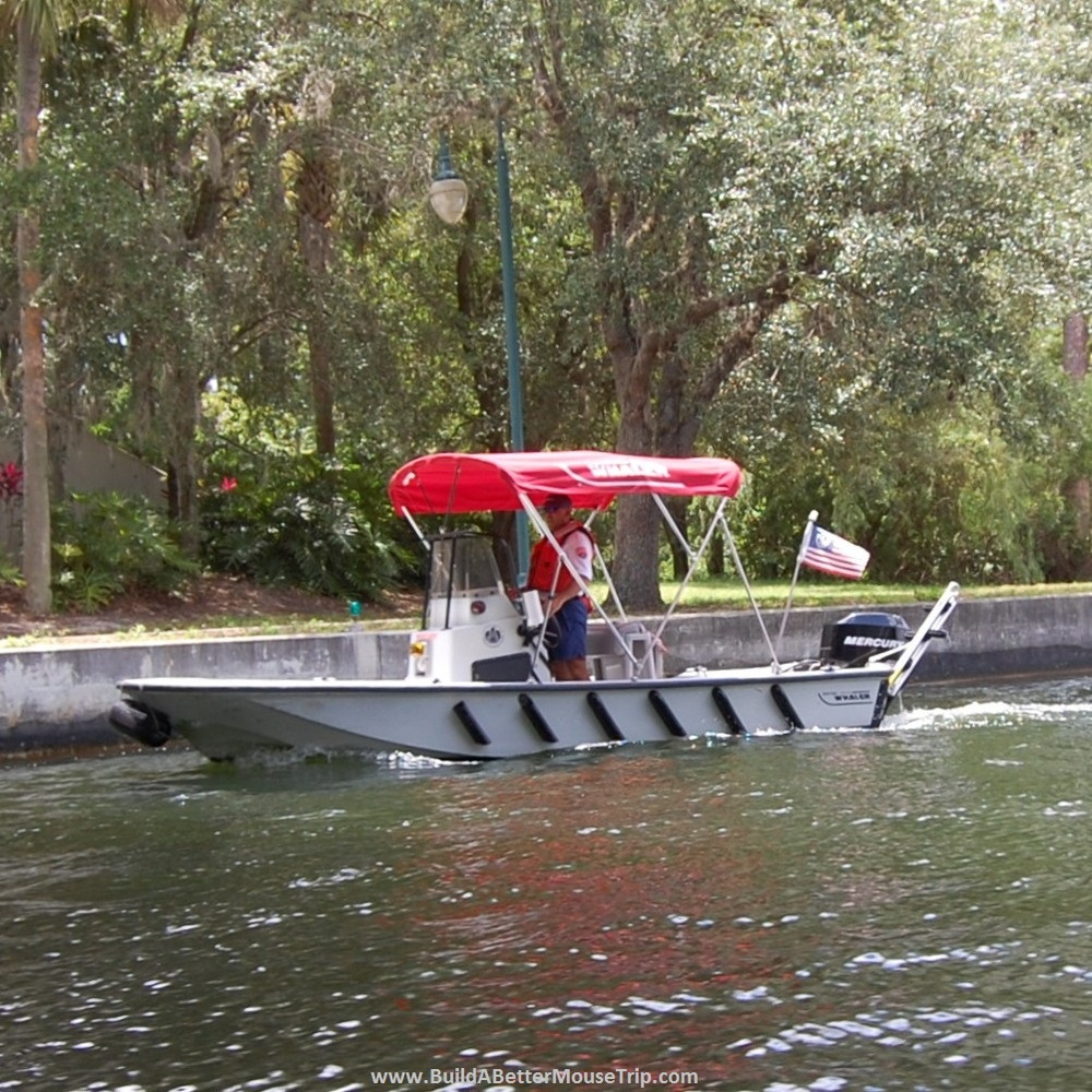 Disney World Water Patrol Boat