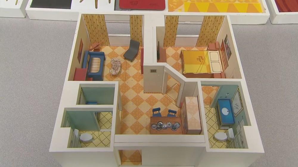 Disney's Art of Animation Resort family suite floor plan.