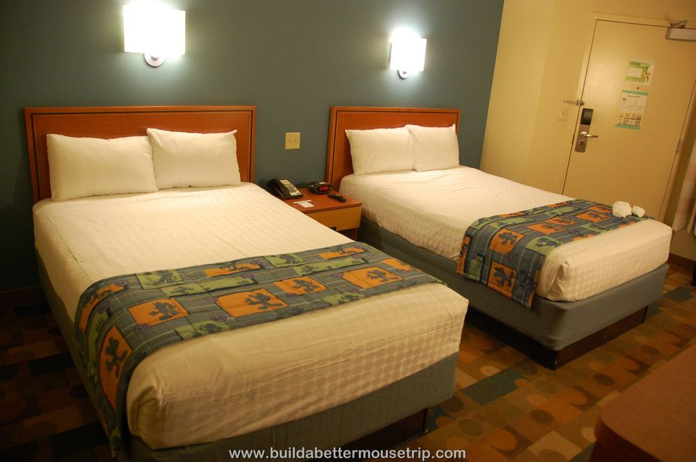 Pop Century Bouble Beds