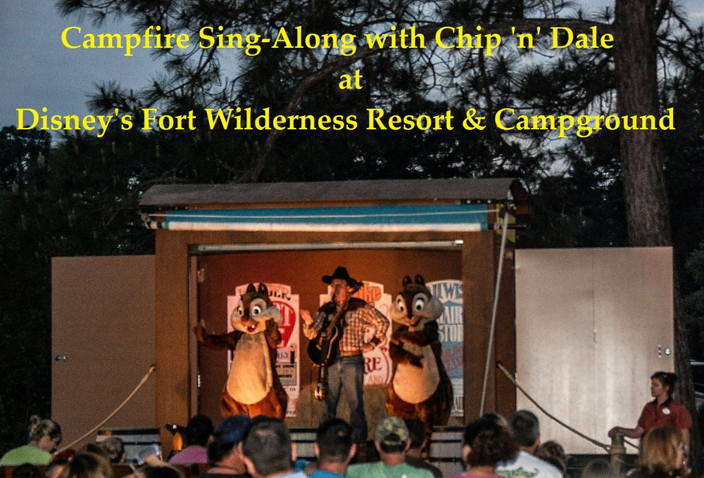 Campfire Sing-Along with Chip 'n' Dale at Disney's Fort Wilderness Resort and Campground