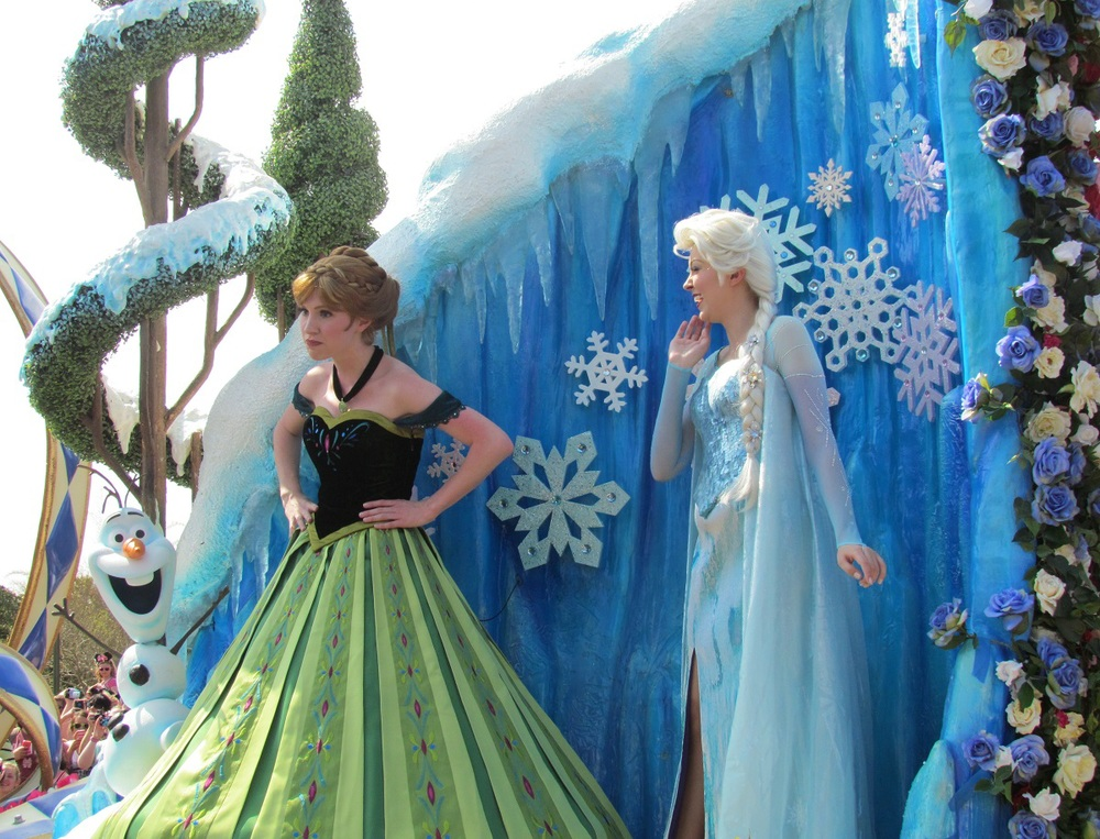 Where to see Anna & Elsa, from Frozen, at the Walt Disney World Resort in Florida - see: http://www.buildabettermousetrip.com/princess-anna-at-disney-world