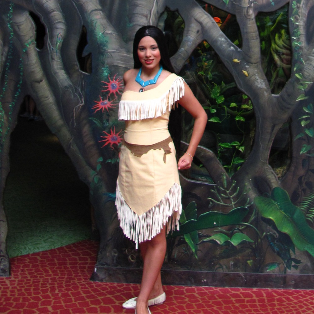 Disney World Tips and Secrets -  where to meet Pocahontas, at Disney World; See: http://www.buildabettermousetrip.com/princess-pocahontas-at-disney-world