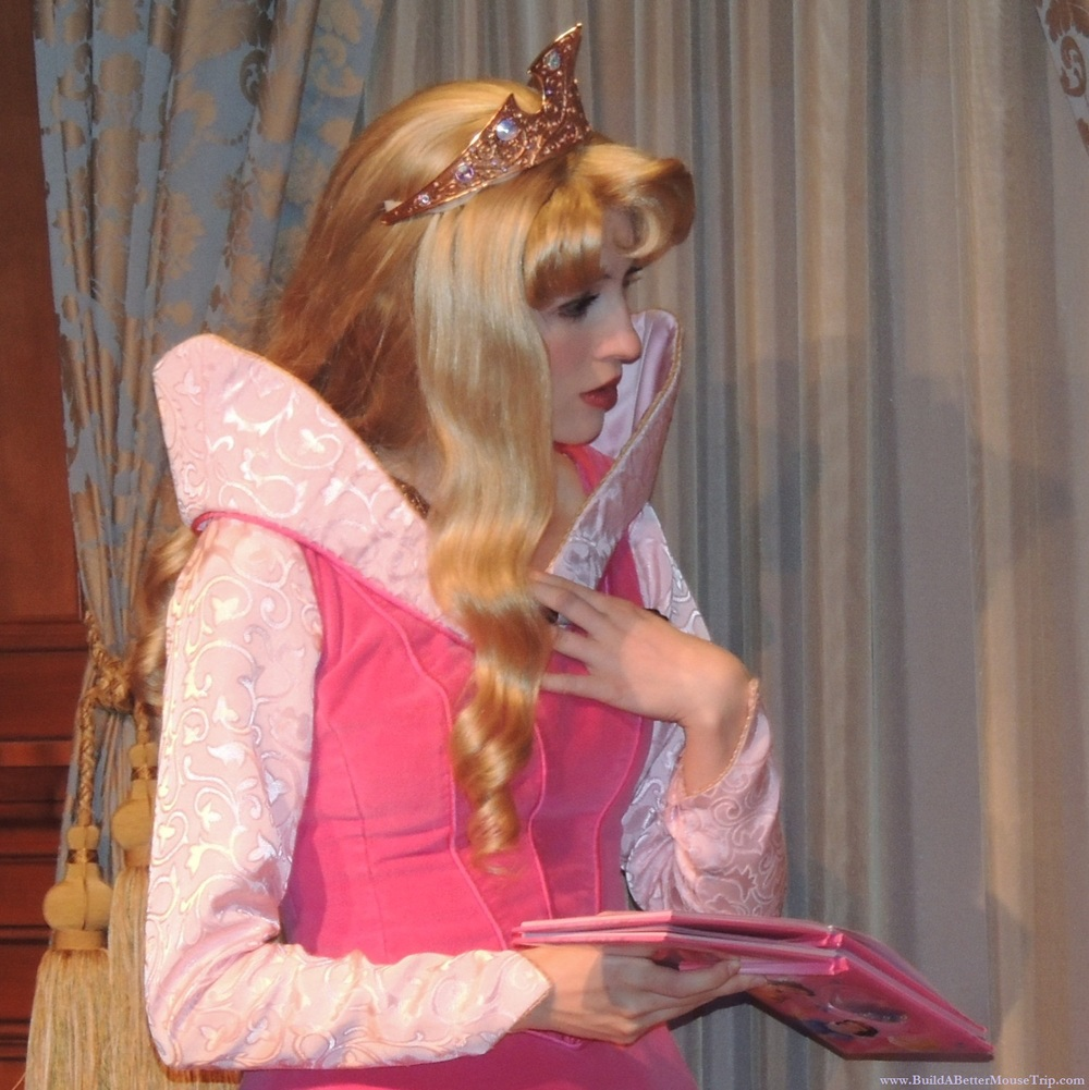 Disney World Tips & Secrets - A list of places to see Princess Aurora (sleeping Beauty) at Disney World.  See: http://www.buildabettermousetrip.com/princess-aurora-at-disney-world