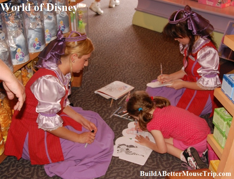 Disney Princesses Outside The World Theme Parks Build A