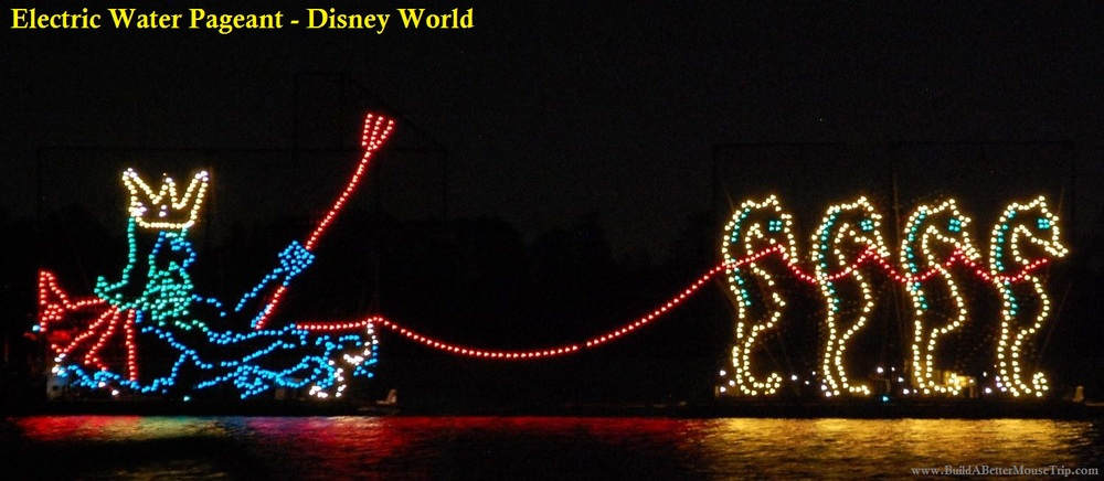 Electric Water Pageant at Walt Disney World.