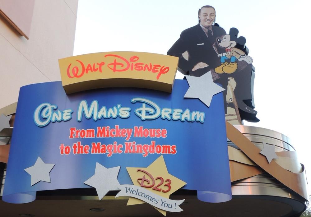 Walt Disney One Man's Dream in Disney's Hollywood Studios at Disney World.