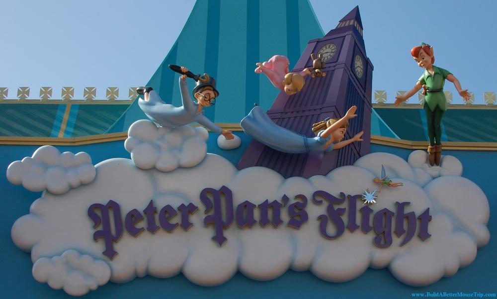 Peter Pan's Flight in Fantasyland at the Magic Kingdom - Walt Disney World Resort
