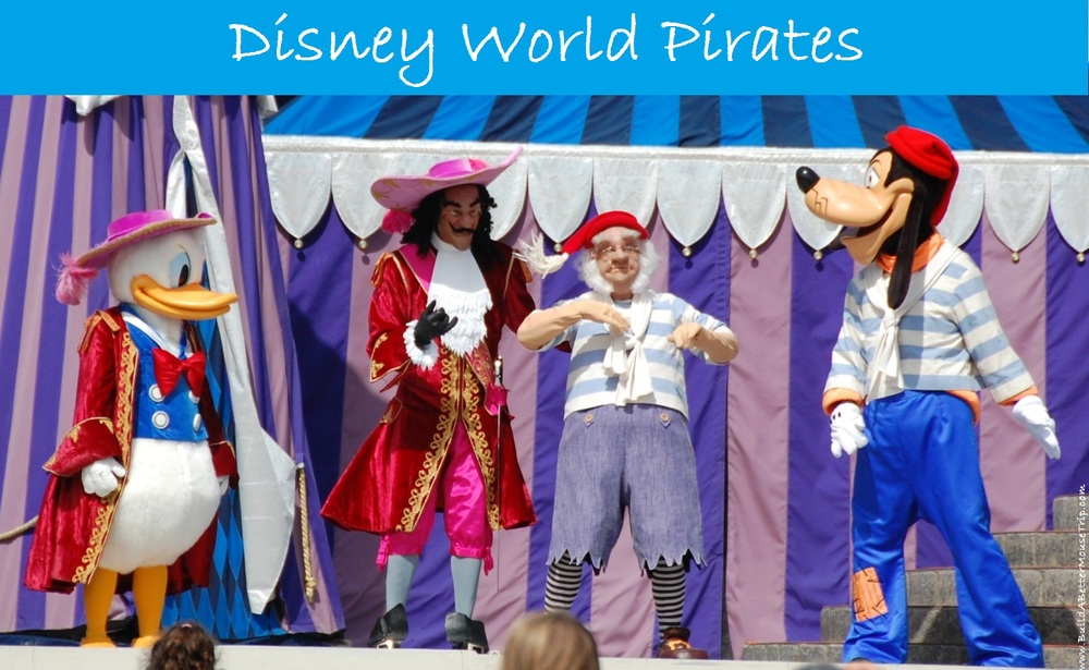 Ahoy, Mate! Here's everything you need to know about Pirates at the Walt Disney World Resort in Florida - includes information about rides, activities, the Pirates League, Character meet-&-Greets, Pirate cruises & More.