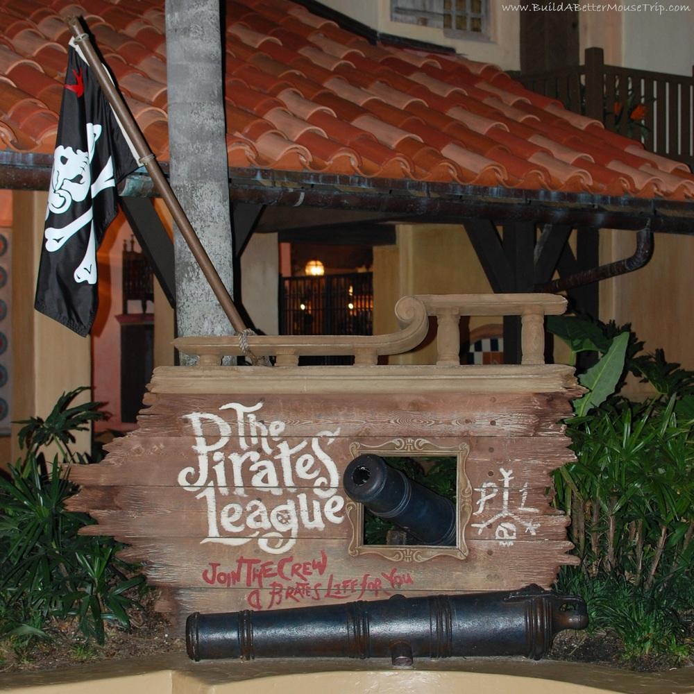 The Pirate's League in the Magic Kingdom