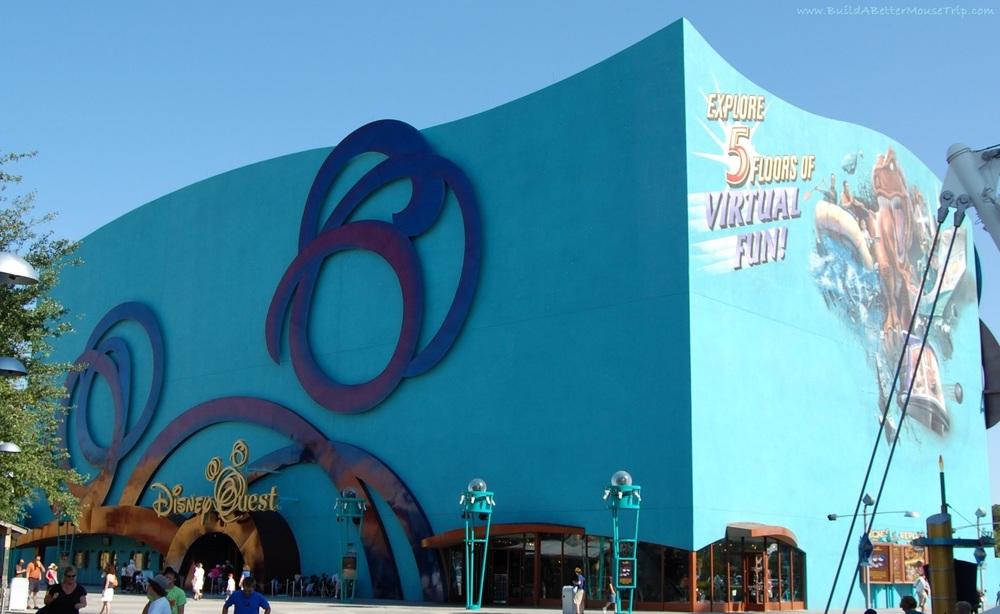 DisneyQuest at Downtown Disney - Walt Disney World Resort.
