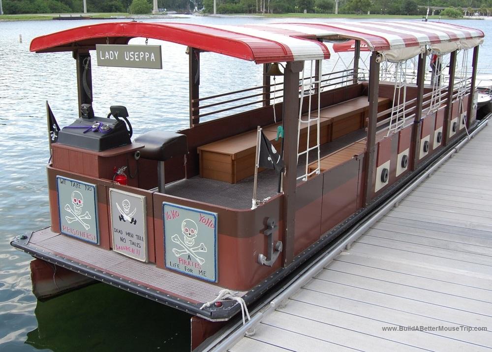 Finding Pirates at Disney World - Pirate Adventure Cruises for children at Disney World