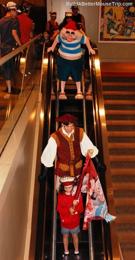Pirate and Pals Fireworks Voyage - Disney's Contemporary Resort - Disney World