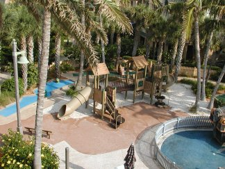 Playground at Disney's Vero Beach Resort