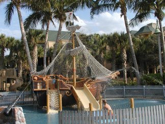 Splash zone at Disney's Vero Beach Resort